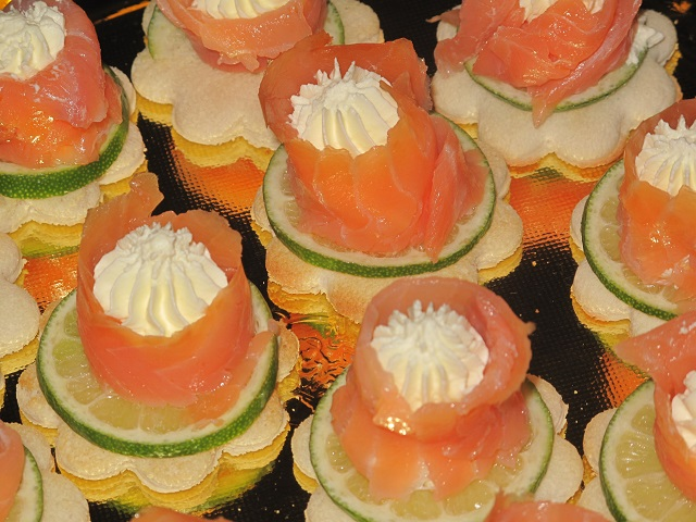 fiori di salmone