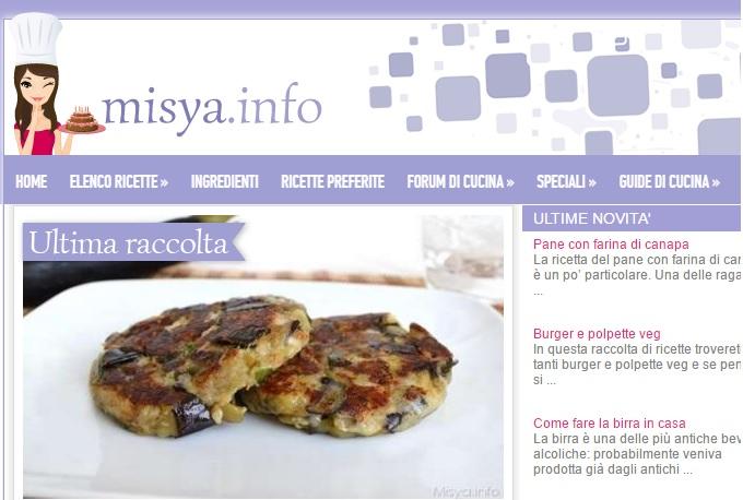 Siti di cucina piu cliccati ricette casalinghe popolari for Siti ricette dolci