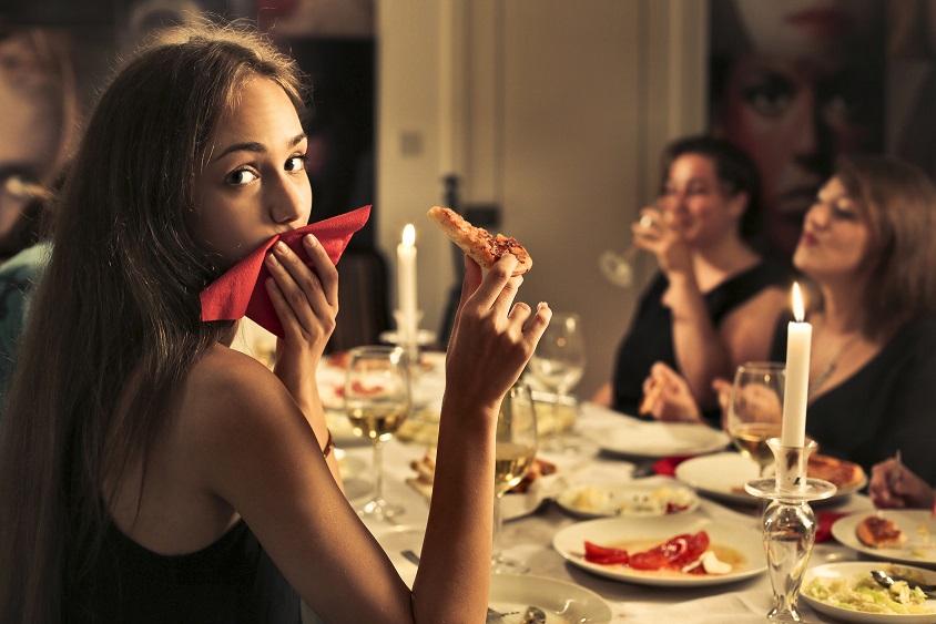 ospiti a cena