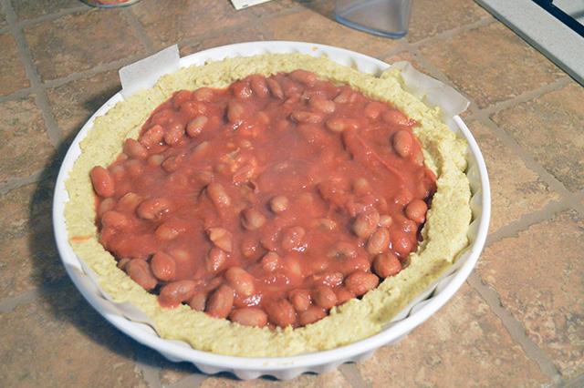 Crostata di polenta con fonduta 08