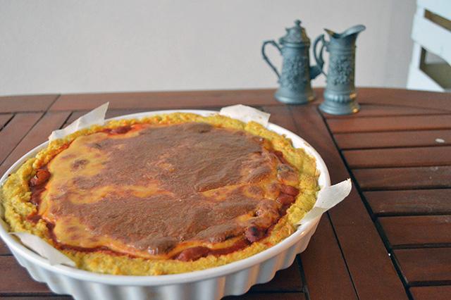 Crostata di polenta con fonduta 10