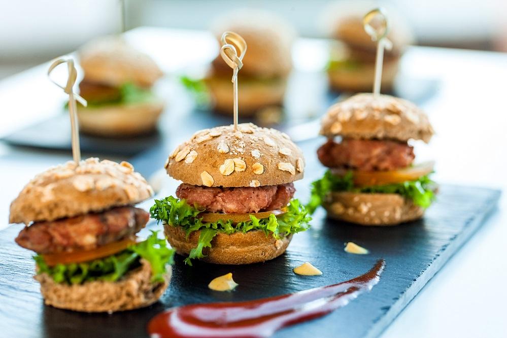 Amato Mini Burger per aperitivi in due versioni - BurroFuso ZV21