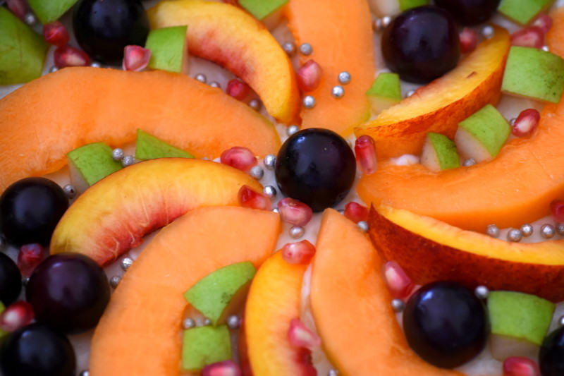crostata di frutta senza cottura