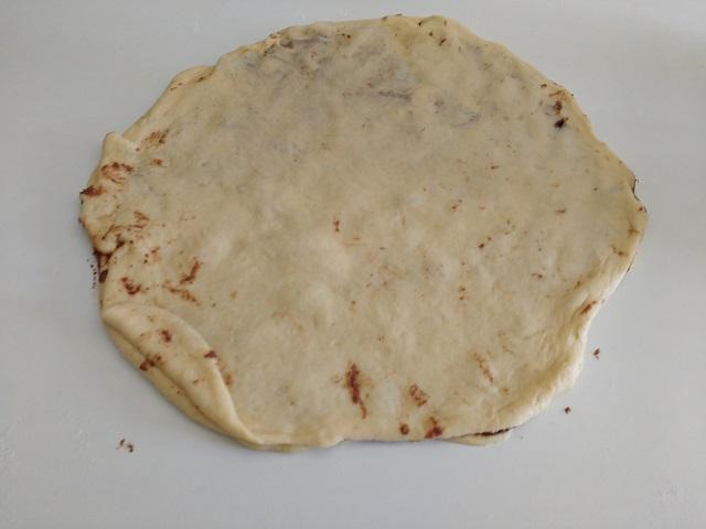 preparazione fiore di pan brioche alla nutella 11