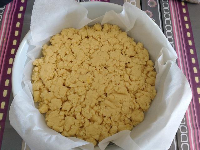preparazione sbriciolata alla nutella 6