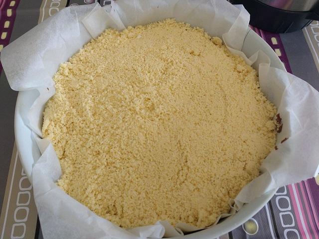 preparazione sbriciolata alla nutella 8