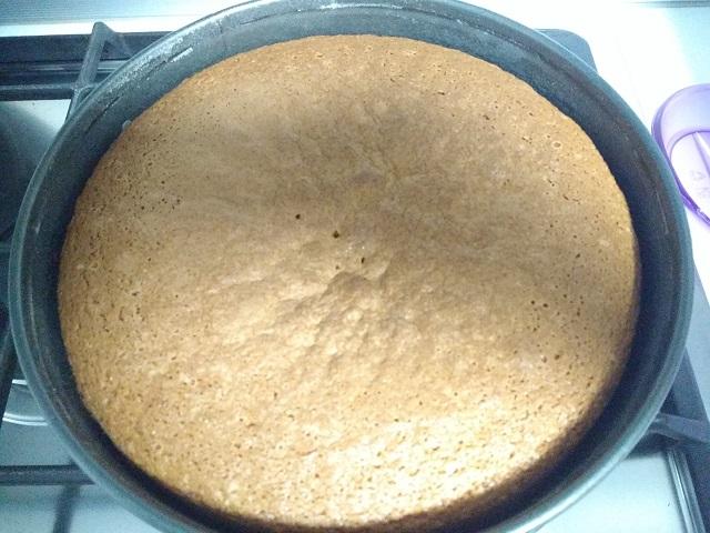 preparazione torta al cocco 8