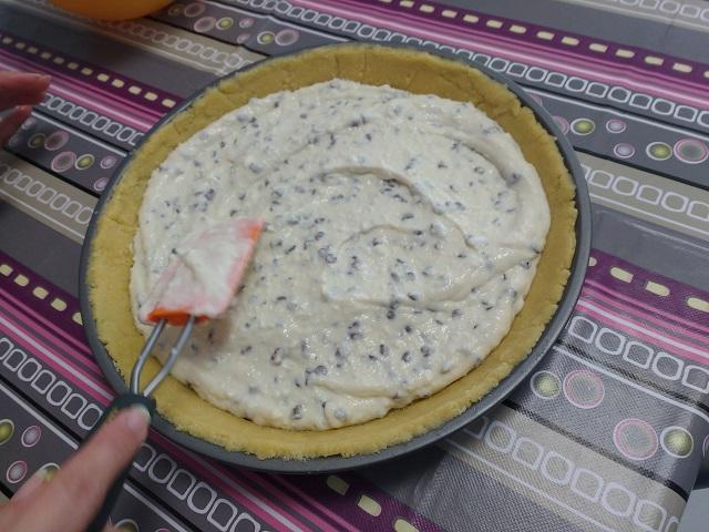 preparazione crostata di ricotta 14
