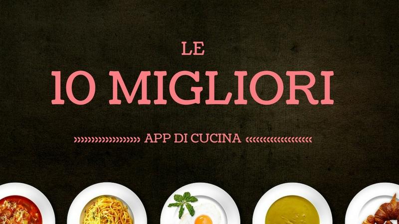 app di cucina