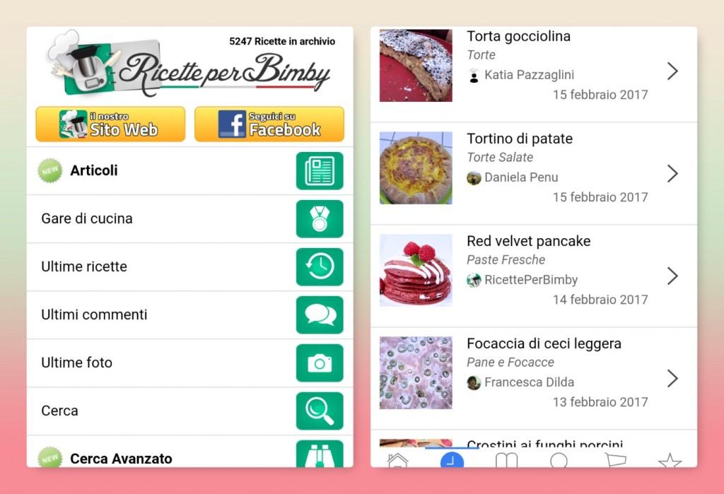 app di cucina bimby