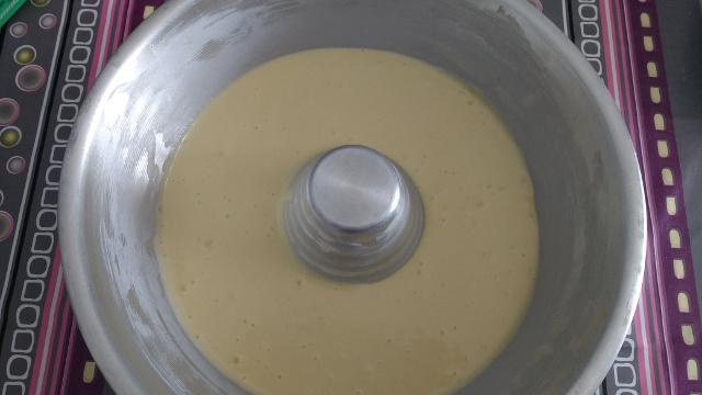 preparazione ciambella marmorizzata 5