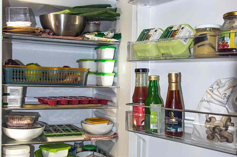 come pulire il frigo