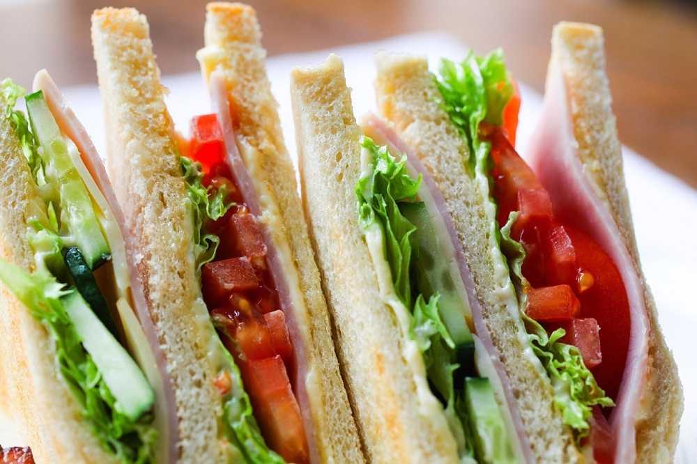 club sandwich tramezzino