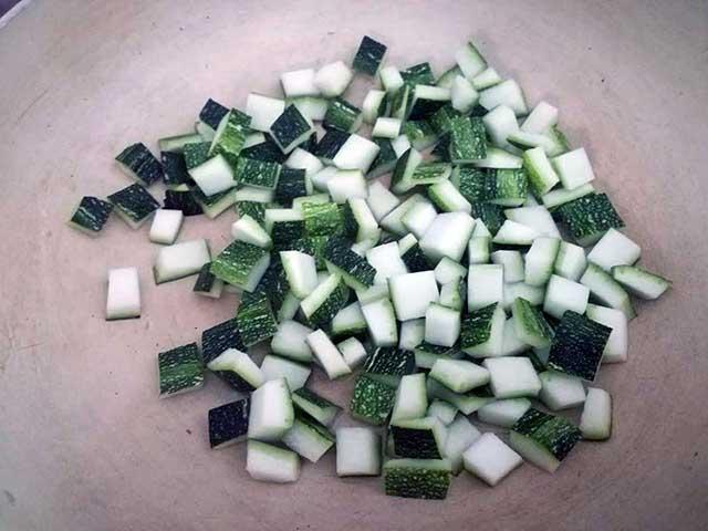 pasta zucchine e speck