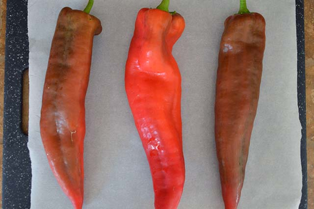 peperoni al forno
