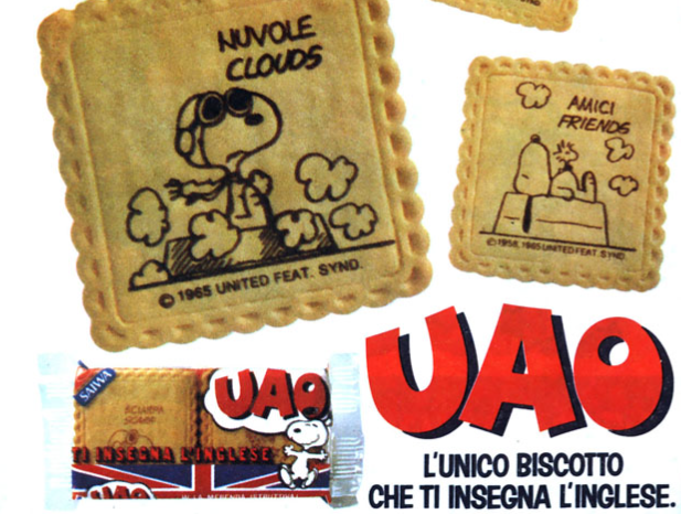 biscotti uao snoopy