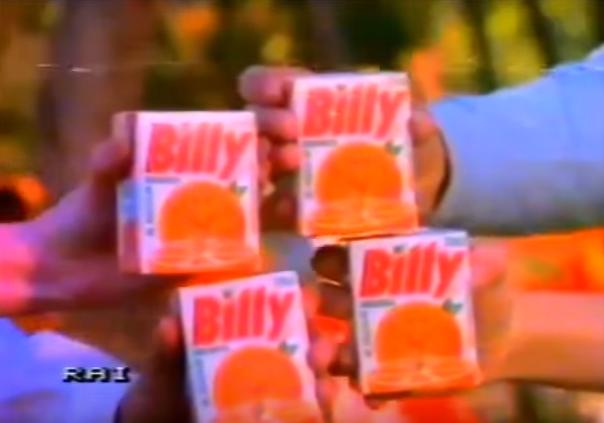 succo di frutta Billy