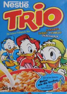 trio nestle colazione