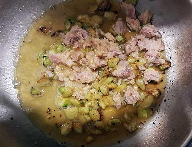 pasta tonno e zucchine