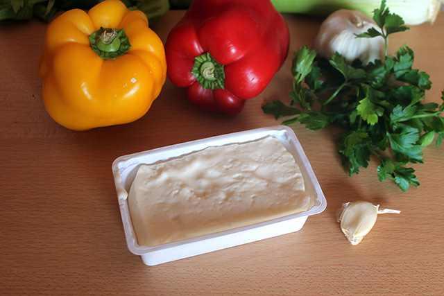 ingredienti crema di peperoni