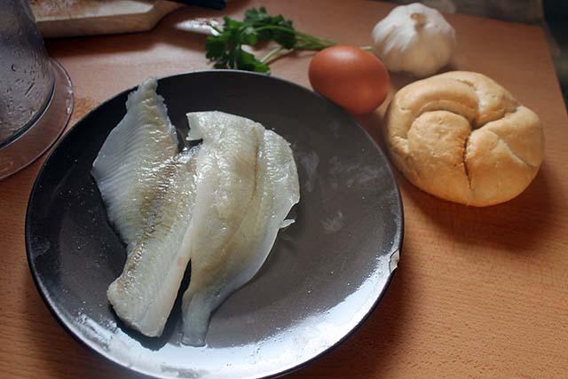 ingredienti polpette di pesce
