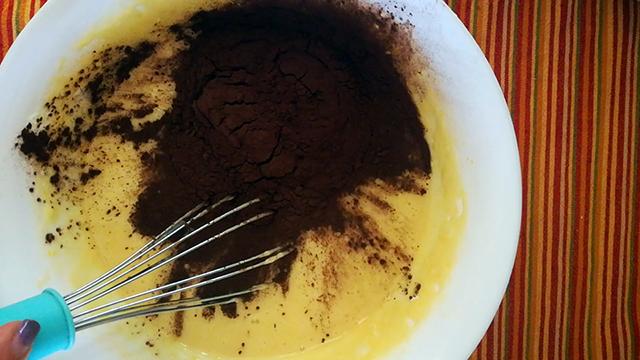 aggiungere cacao