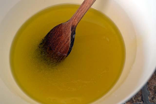 olio per creare emulsione