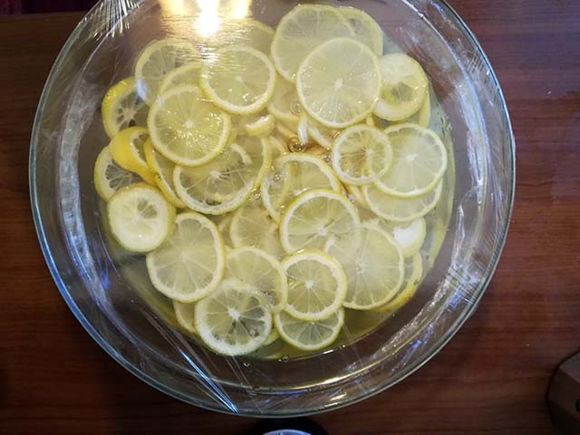 limoni a macerare