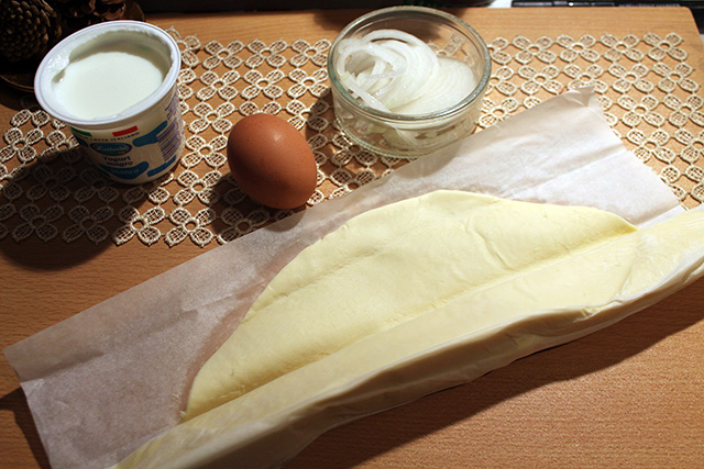 ingredienti torta di cipolle