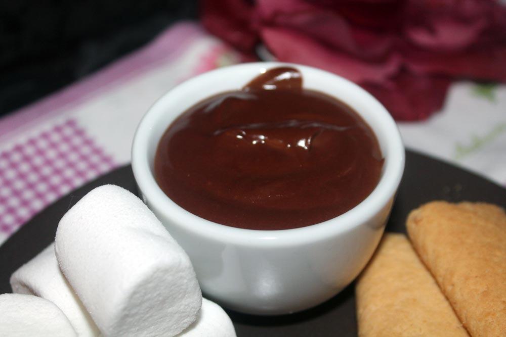 fonduta di cioccolato