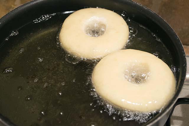 ciambelle in frittura