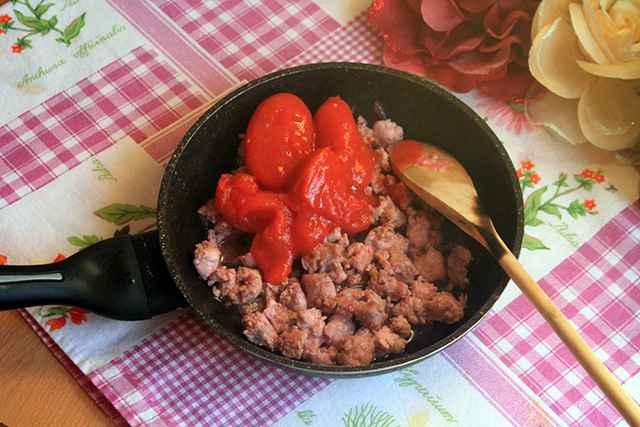 aggiunta pomodoro