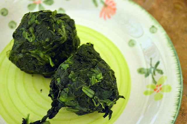 spinaci cotti