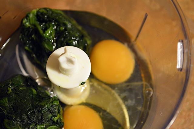 Spinaci uova