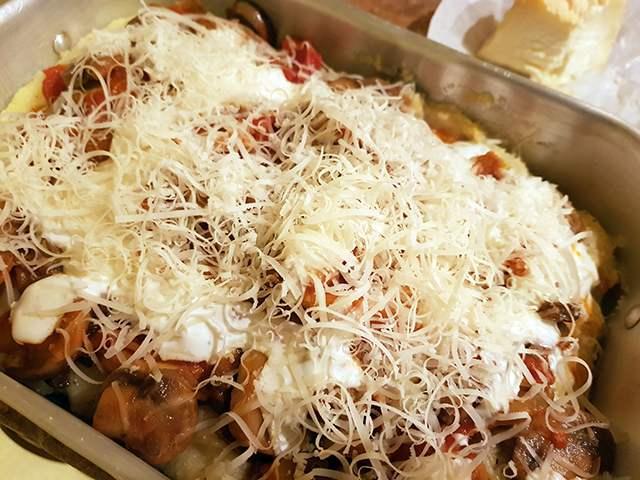 polenta al forno