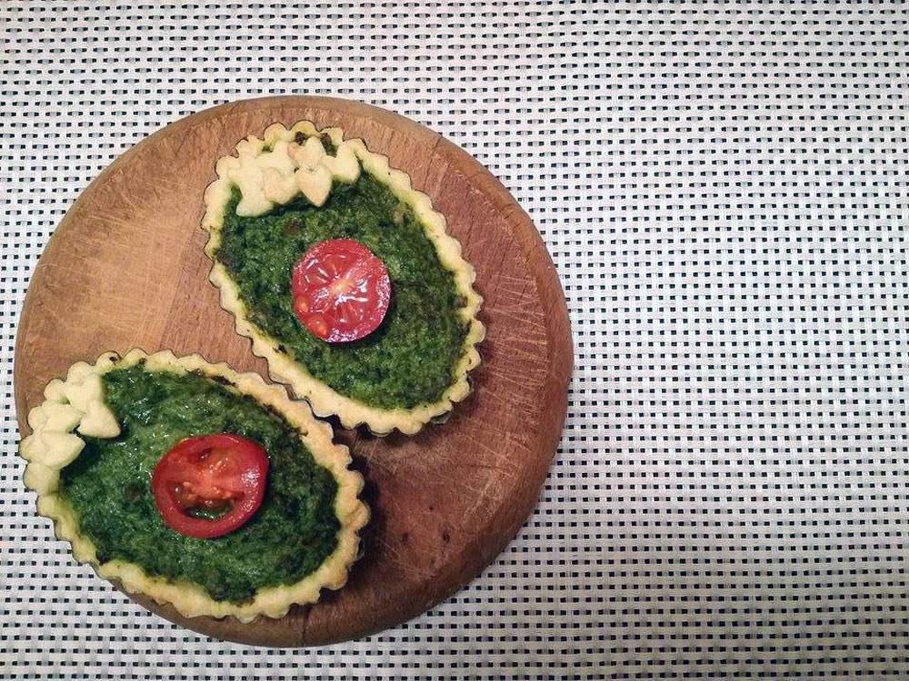tartellette ricotta e spinaci