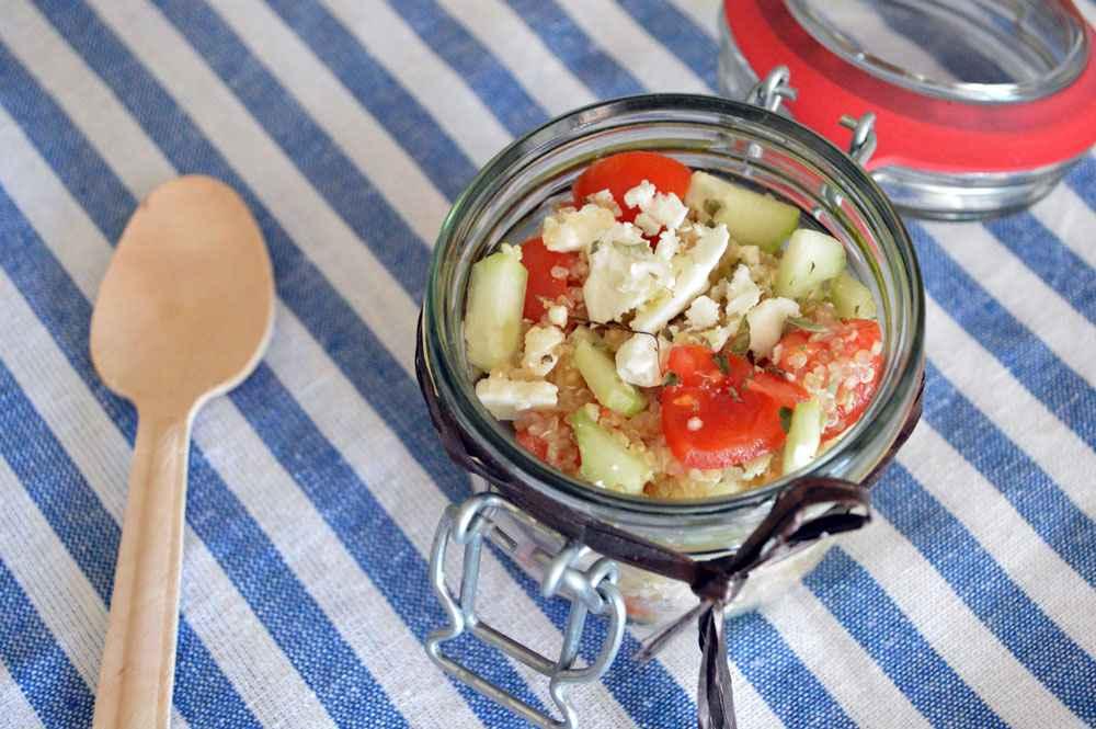 insalata di quinoa