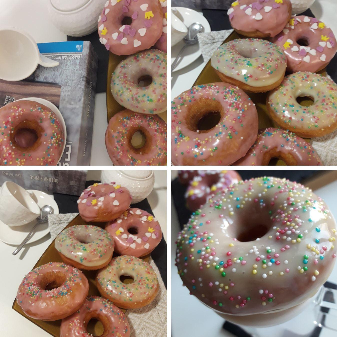 donuts finiti impiattati